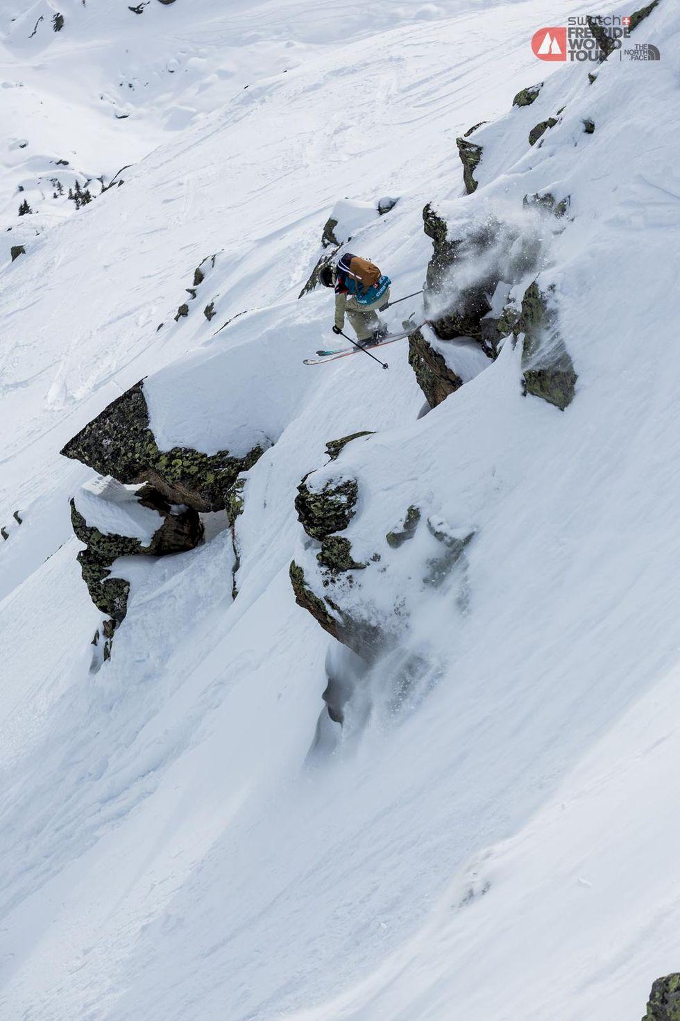 Svenskarna som skidade bäst i världstouren, Alaska