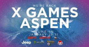I helgen börjar X Games Aspen 2021