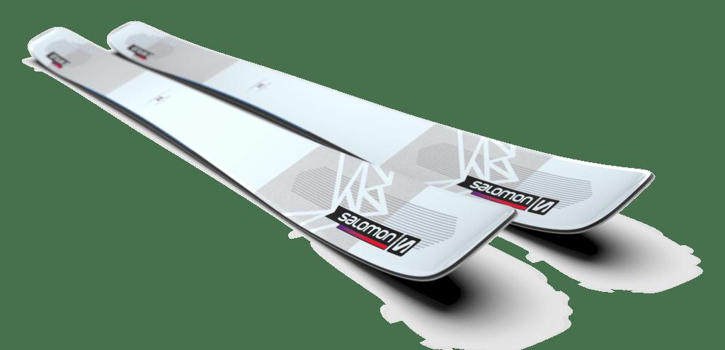 Den nya skidan Salomon QST Blank
