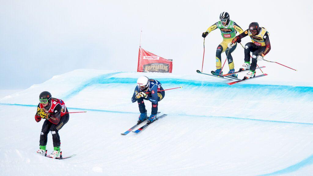 Bild från världscuptävlingarna i Idre. Foto: Erik Segerström