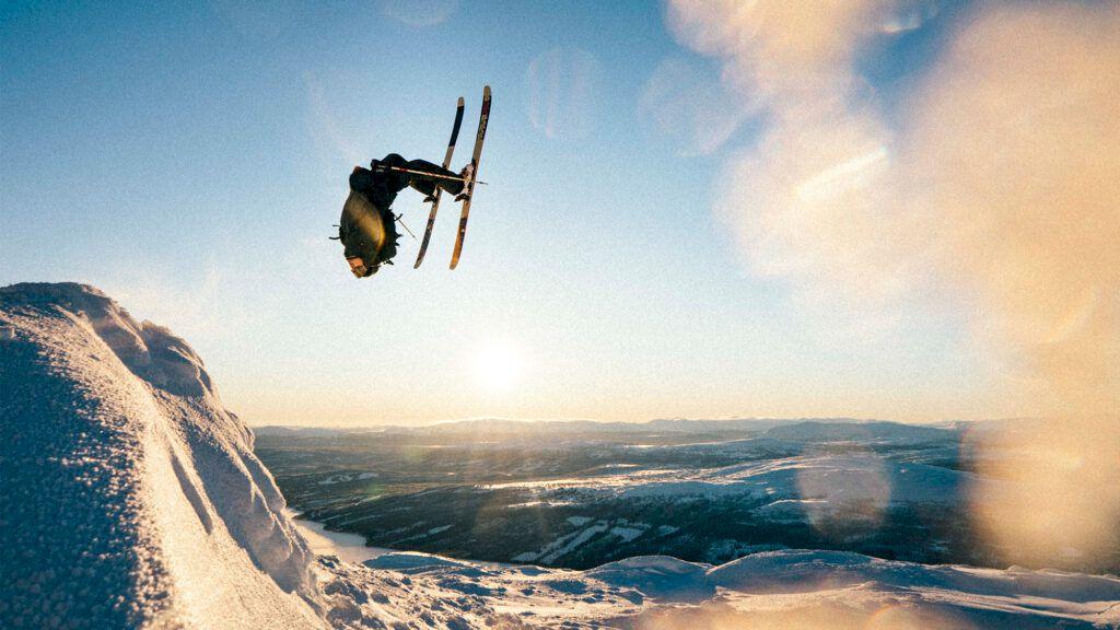 Adam Falk är tillbaka bland bergen. Foto: Emrik Jansson