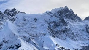 Glacier du Tabuchet ramlade ner i La Romanche. Foto: Pelle Lång