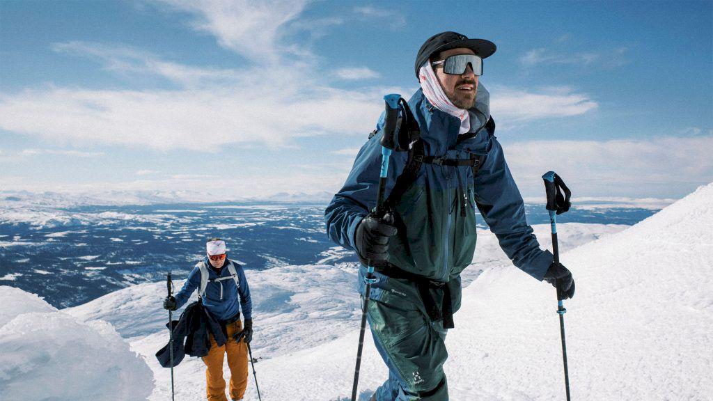 Per Jonsson och Henke Westling lanserar ett nytt topptursprojekt till nästa vinter. Foto: Darren Hamlin