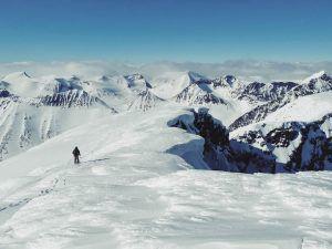 Gänget i expetiotionen Arctic12 fortsätter sin färd i den vilda svenska fjällvärlden.