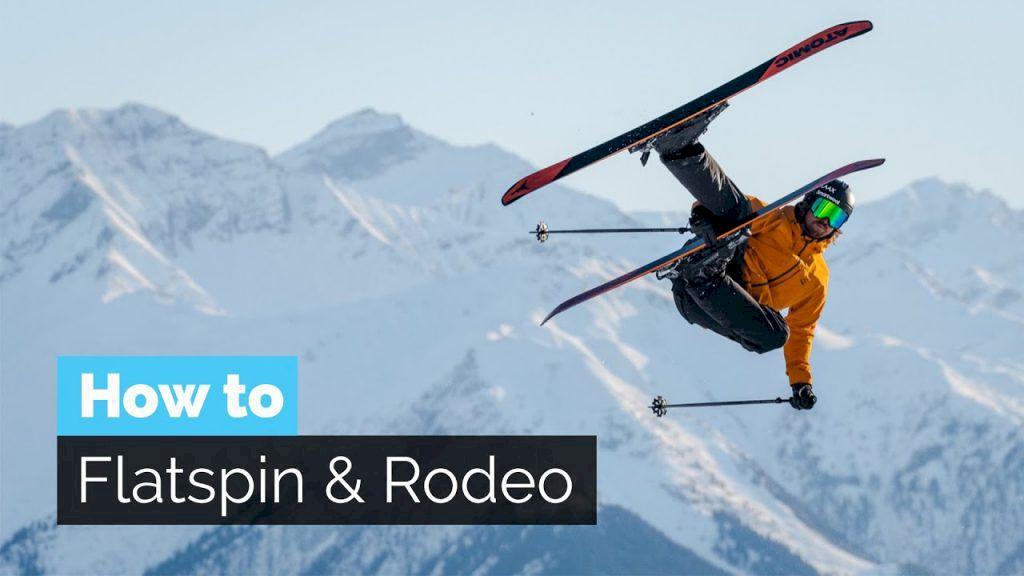 Flatspin och rodeo på skidor. Foto: Stomp It Tutorials