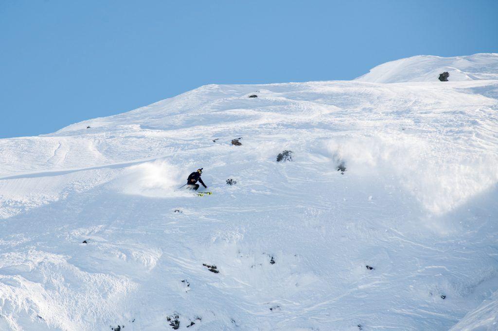 Den andra finaldagen bjöd mycket action. Här är bilder från dagens åk på Scandinavian Big Mountain Championships.